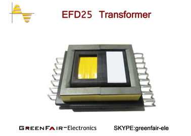 China SMD EFD 25 High Frequency Power Transformer PC40 Core Grade Phenolic Bobbin Material supplier