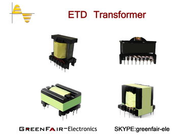 China ETD34 Large Power Transformer High Frequency UL Low Height Screen Protect supplier