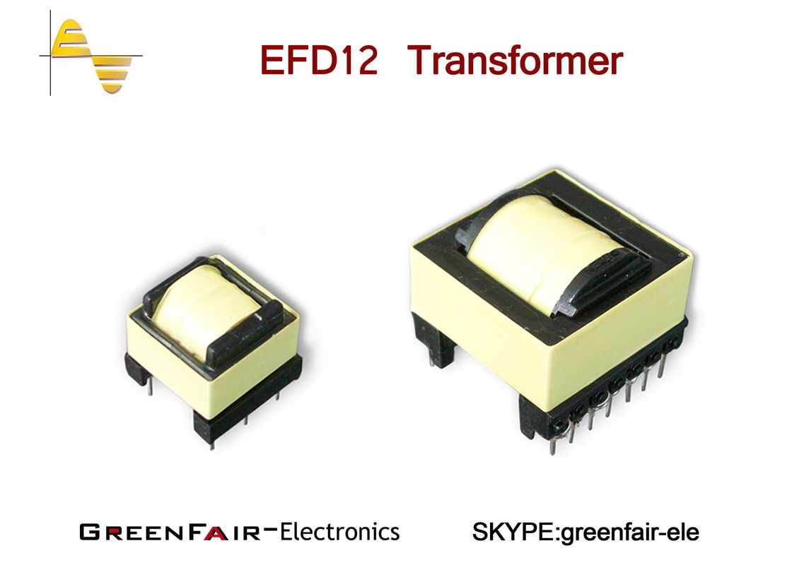 Three Color Copper Wire High Frequency Transformer Efd Series Smd Type Wiring Transformers In