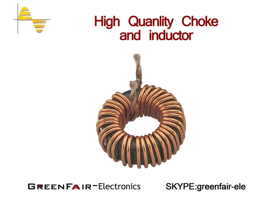 Yellow White Qcc Spc Power Choke Inductor T184 75 Coil Coils Of Copper Wire Are Commonly Used In Electrical Inductors