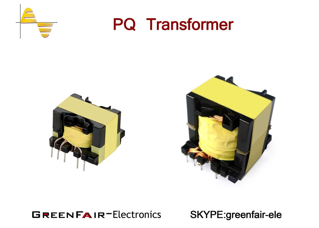 Litz Wire Vertical Electronic Power Transformer Pq27 Corestable Big Electronics Current