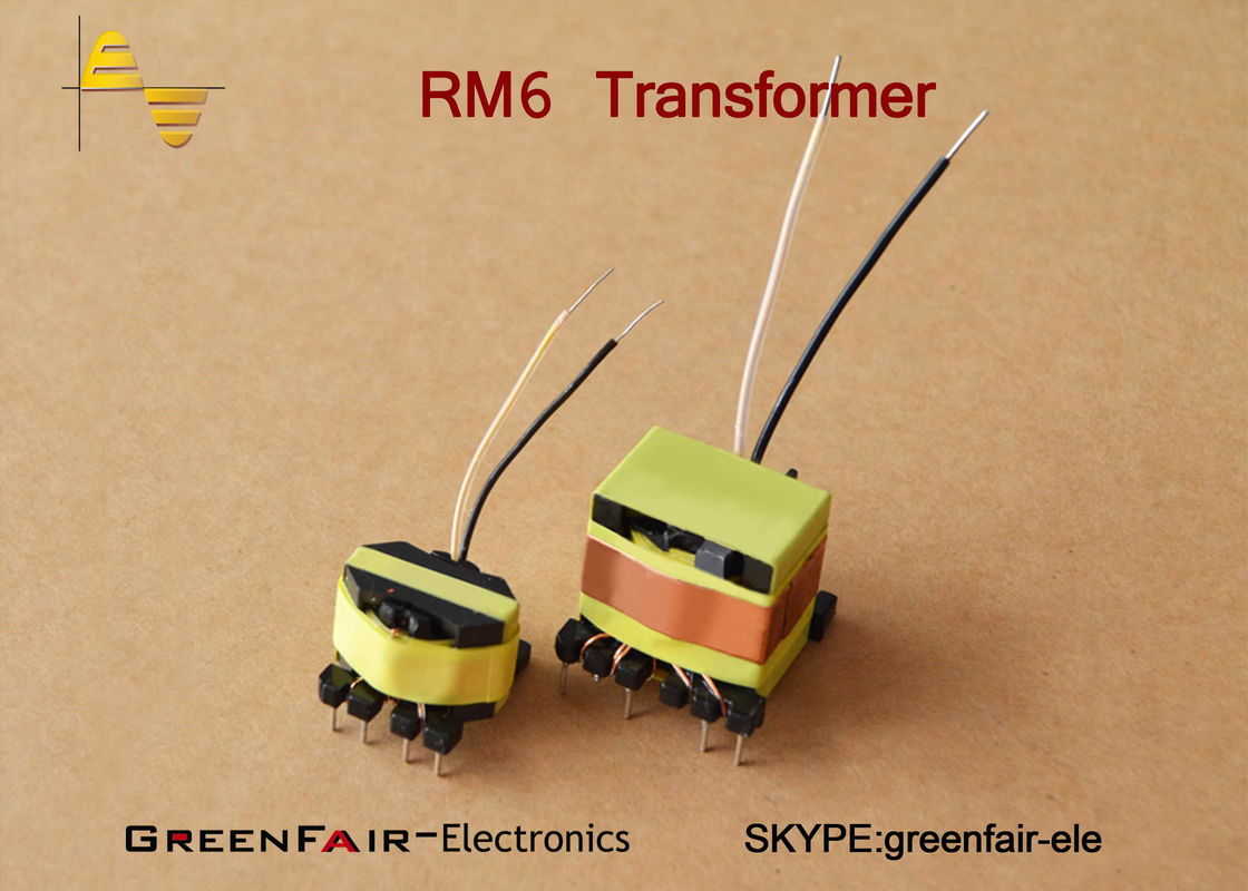Flyback Small Size Transformer RM6 4 + 4 Pin Switching Power Supply ...