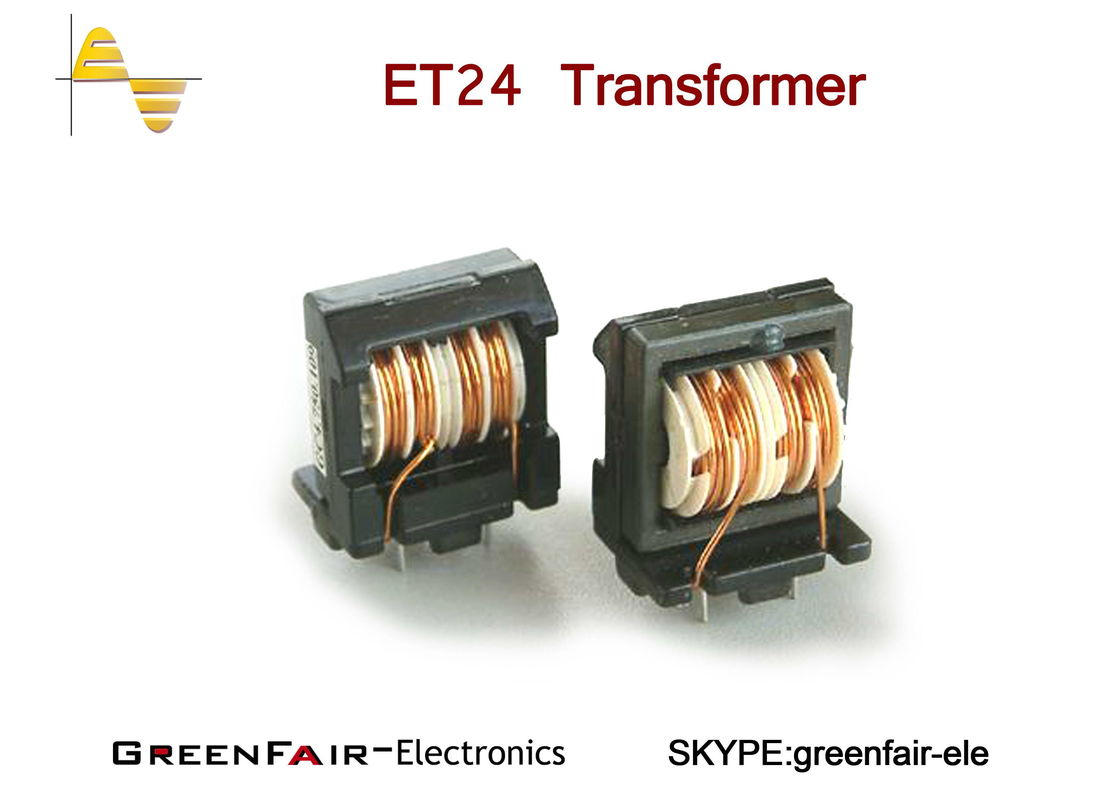 Vertical CMC ET28 10mH Power Inductor Coil , CE Common Mode