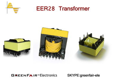 China Biflar Winding High Frequency Current Transformer Industrial EER28 With Teflon Tube factory
