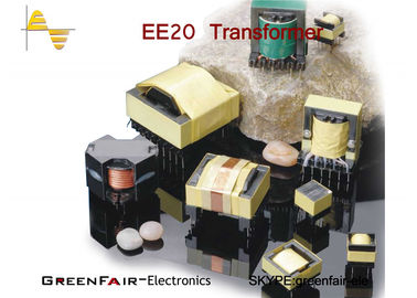 TDG Core Power Isolation Transformer , Horizontal EE30 33 High Frequency Power Transformer