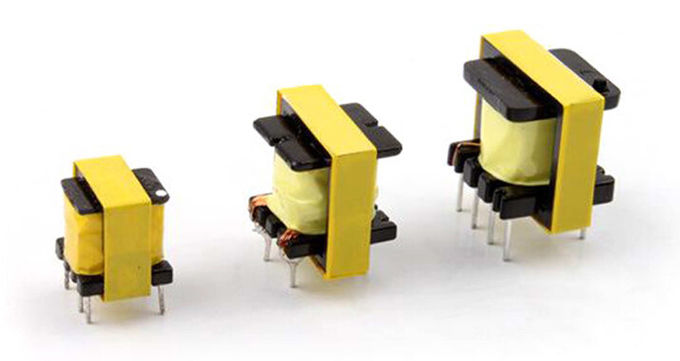 Small Volume EI10 Switch Mode Power Supply Transformer Lightweight High Inductance Value