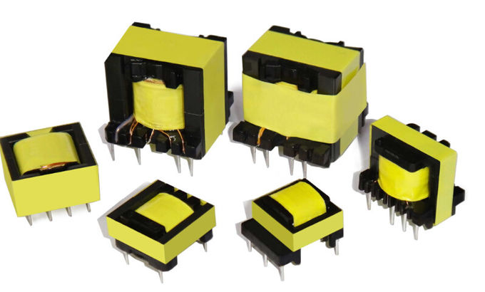 Vertical Horizontal EE40 42 Hf Power Transformer , UEWF LITZ WIRE High Isolation Transformer